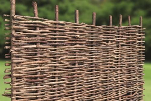 Weidenprofi Grosshandel Sichtschutz Korbwaren Naturgeflechten