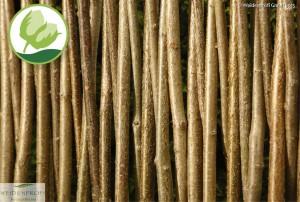 Material: Naturgeflecht Haselnussruten