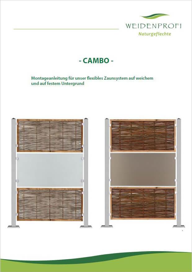 Anleitung: CAMBO aufstellen