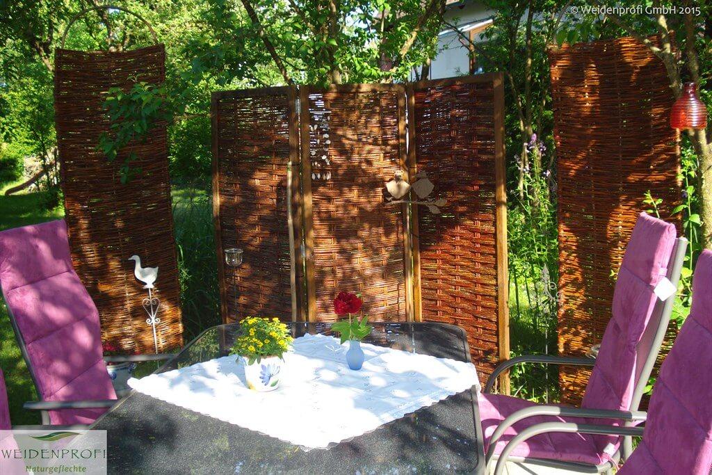 Kundenbild Weidenzaun Spanische Wand