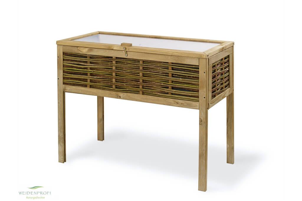 Balkon-Hochbeet Tisch-Hochbeet