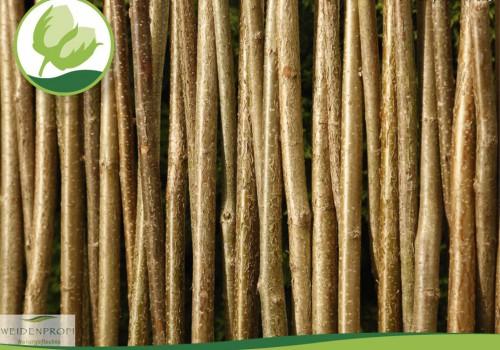 Naturzäune Haselnussholz