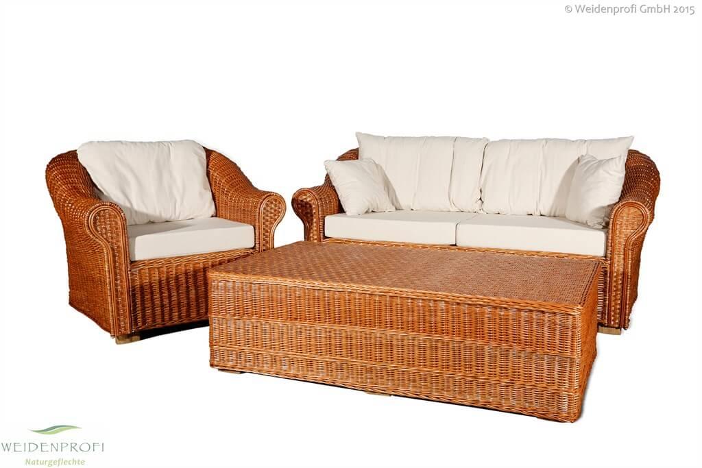 Weidenmöbel CLASSICO Lounge-Set
