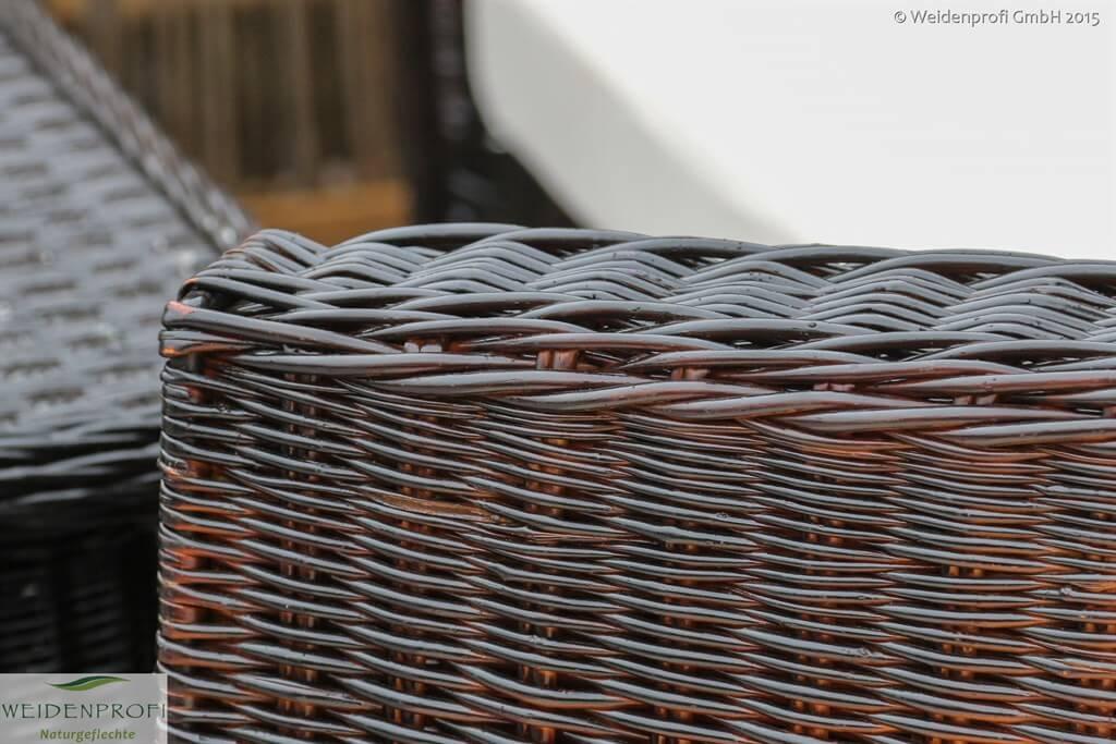 Weidenmöbel MODERNO Detail