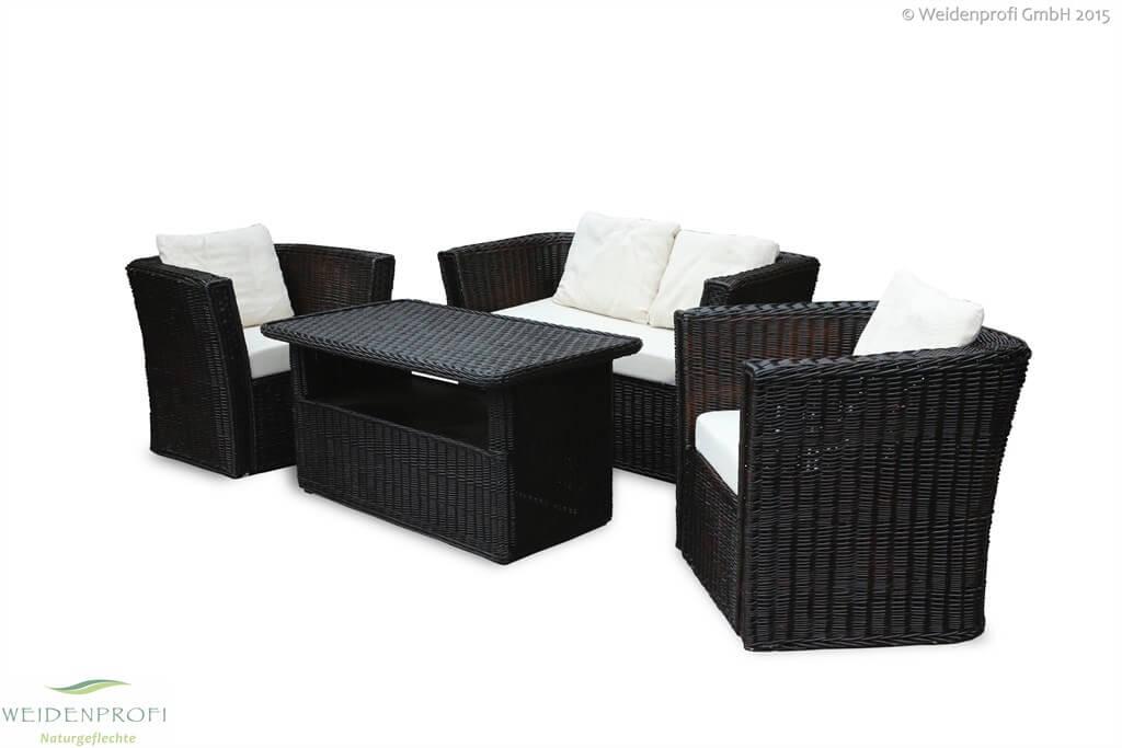 Weidenmöbel MODERNO Lounge-Set