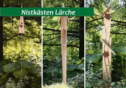 Nistkästen Aus Lärchenholz