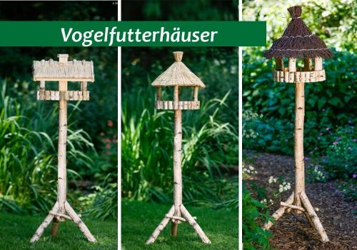 Vogelhäuser Birke Natur