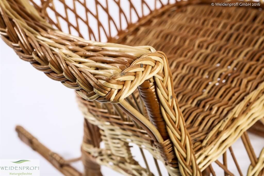 Weidenmöbel: Schaukelsessel Für Kinder