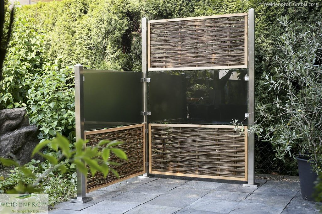 serie cambo modulares zaunsystem weidenprofi gmbh weidenz une haselnussz une. Black Bedroom Furniture Sets. Home Design Ideas
