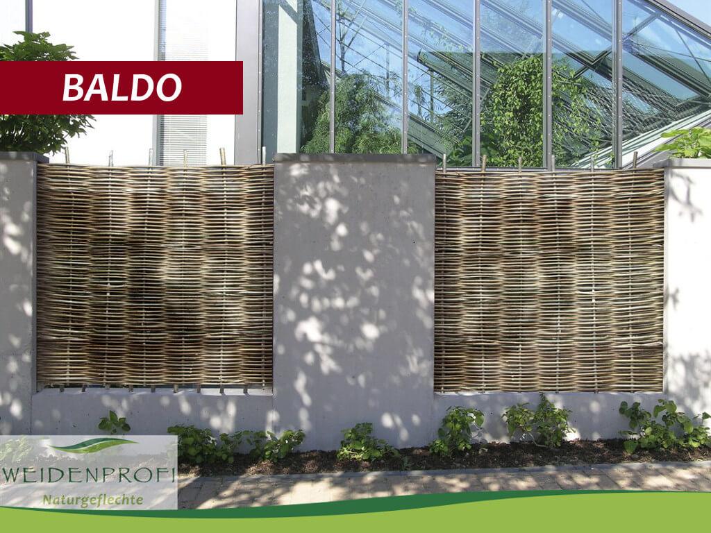 Serie BALDO – Klassische Flechtzäune
