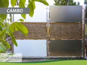 Serie CAMBO mit Edelstahlpfosten
