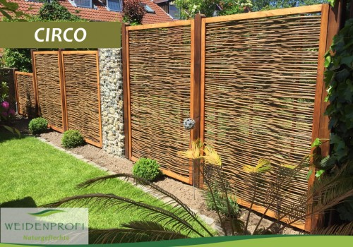 Serie CIRCO – Naturzäune Mit Holzrahmen