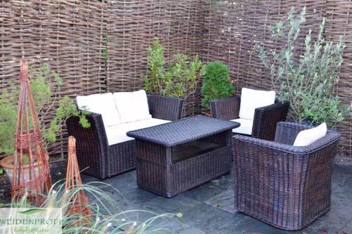 Weidenmöbel Lounge MODERNO