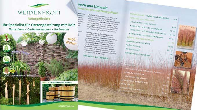 Neuer Weidenprofi Katalog